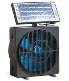 Solar Powered Window Fan