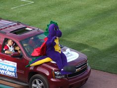 Zoggy, Tri-City ValleyCats mascot; Class A-Short Season, New York-Penn League.