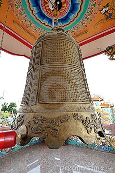 Huge chinese bell