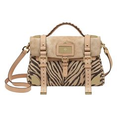 Travel Day Bag, Natural Mixed Printed Leather, £1,500