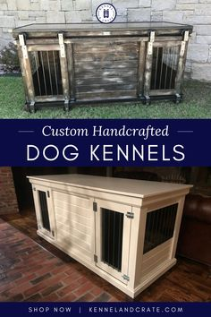 Kennel Custom Dog Kennel, Dog Kennels, Dog Furniture, Urban Farmhouse, Dog Things, Dog Crate, Interior Door, Dog Grooming, Dog Mom