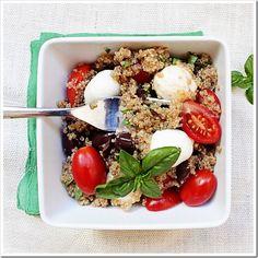 Olive & Tomato quinoa salad 4
