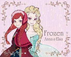 *アナと雪の女王* by 冬未いつる on pixiv