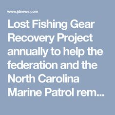 Lost Fishing Gear Re