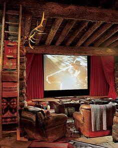 RL Saloon/Screening Room at Colorado Ranch