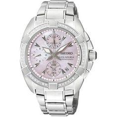 Mother of pearl dial Seiko Watches, Casio Watch, Michael Kors Watch, Chronograph, Jewlery, Swarovski, Pearls, My Style, Clocks