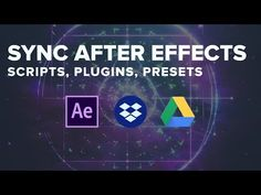 (1) Sync After Effects Tools via Dropbox, Google Drive, and Other Cloud Platforms - YouTube