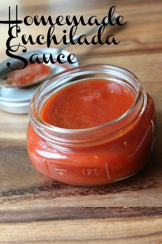 Homemade Enchilada Sauce {I've made this before and  I swap out the sugar and replace with honey or maple syrup}