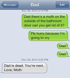 If this was around when I was a kid, I so would of sent this!!! (It would of been a roach tho!!)