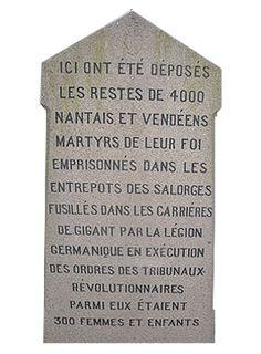 """""""En 1793, la France faisait front à l'Europe, la Vendée tenait tête à la France. La France était plus grande que l'Europe ; la Vendée était plus grande que la France."""" Victor Hugo."""