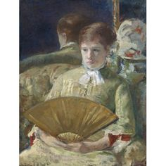 Miss Mary Ellison Canvas Art - (18 x 24)
