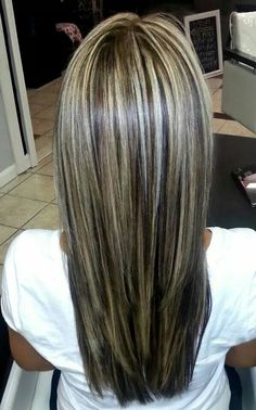 Rich dark Chocolate and icy vanilla by Impact Salon and Spa! Rich dark Chocolate and icy vanilla by Medium Hair Styles, Short Hair Styles, Frosted Hair, Brown Blonde Hair, Hair Color Highlights, Hair Color And Cut, Bad Hair, Great Hair, Balayage Hair