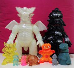 Gargamel 2013 Lucky Bag #toys #kaiju #sofubi #gargamel #ggml #Japan #art #vinyl