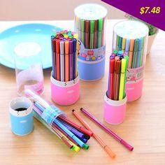 This is nice, check it out! Deli School Supplies 12/24/36 Colors Watercolor Art Makers Pens For Drawing Children Washable Color Pen Set - US $7.48 http://shoppingcenter9.com/products/deli-school-supplies-122436-colors-watercolor-art-makers-pens-for-drawing-children-washable-color-pen-set/