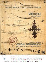 Virtutile - desen si obiect, Portret / Atelier Ovidiu Simionescu, 25 martie - 19 aprilie 2015 la Muzeul National al Taranului Roman