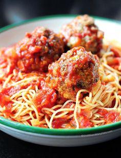 classic spaghetti and meatballs recipe shewearsmanyhats.com