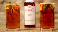 Pimm's Cup recipes.  This is going to be the Summer 2012 Cocktail chez nous.