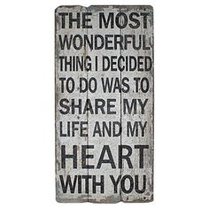Share My Life With You