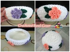 Crochet Bowl Cover - Free crochet pattern and tutorial by Meladora's Creations