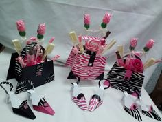 Shoe Party Decorations | ... shoes to match purses are available or as stand alone shoes they can