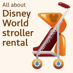 (Article last updated: April 27, 2015) It is not uncommon for Disney World visitors to walk 50 miles during a one week visit. Fifty miles. That's a lot for adults, let alone kids. Even kids who don't usually ride in strollers will find it helpful to use a stroller while touring Disney World...