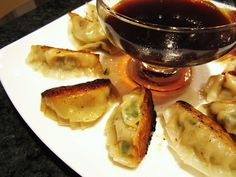 Pork and Shrimp Gyoza (dumplings) at home!!