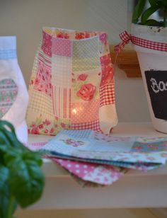 Lichtbeutelchen Light Pouches pink with by PawedAtFurnishings
