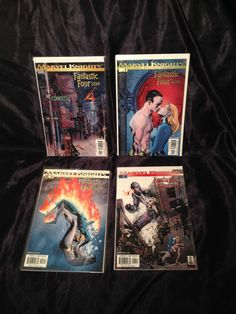 Marvel Knight Fantastic Four: 1234 #1-4. Marvel Comic Books Grant Morrison