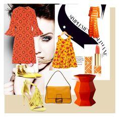"""My wardrobe"" by silvia-khatcherian on Polyvore featuring Holly Fulton, Aquazzura, Catimini, Fendi, Tory Burch, Selamat Designs and Steve Madden"