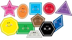 I love this FREE shape clip art! I am going to use them to create a file folder game for my pre-k's!