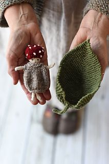 Ravelry: Toadstool Doll & Leaf Set pattern by Susan B. Knitting Projects, Crochet Projects, Knitting Patterns, Crochet Patterns, Cute Crochet, Crochet Toys, Knit Crochet, Crochet Gifts, Homemade Dolls