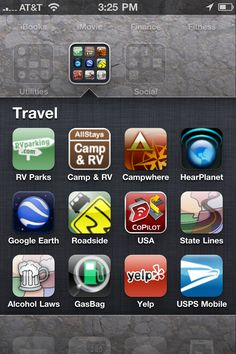 Probably should download these for this summer... iPhone App Essentials for RV Travel