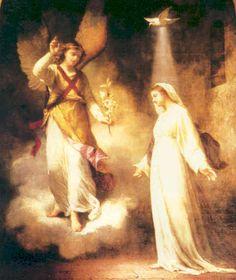 The Annunciation.