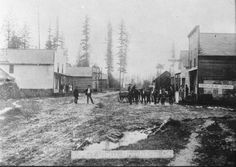 Early Gresham, Oregon c 1860-70s