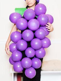 DIY Grapes Costume