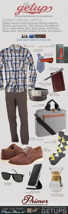The Getup: Smart Casual Office - Primer