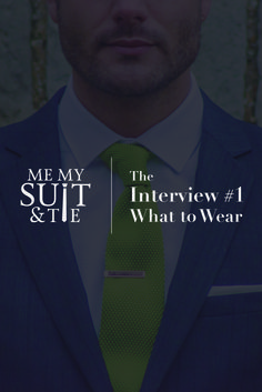 Latest article! The Interview #1 - What to Wear. http://www.memysuitandtie.com/the-interview-1-what-to-wear/ Let MMS&T help you make a good first impression. #mmst #menswear #mensfashion #gentlemen #suits #suitandtie