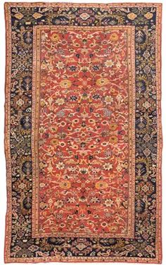 SULTANABAD CARPET  WEST PERSIA, CIRCA 1890   18ft.3in. x 10ft.11in. (555cm. x 332cm.) I Christie's Sale 7039