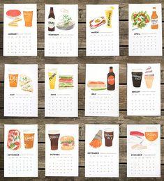 Calendario 2014 cerveza/alimentos