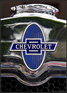 Chevrolet logo detail (by smenzel)..Re- pin brought to you by #lLowcostcarIns. at #HouseofInsurance #Eugene,Oregon