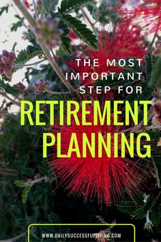 The Most Important Step for Retirement Planning - You can't start your retirement planning unless you have an end goal.
