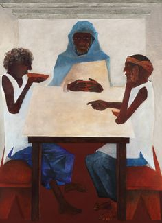 Artist of the Day  Krishen Khanna  Emmaus 2006 Oil on canvas 71.5 x 51.5 in