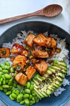 Healthy Meal Prep, Easy Healthy Recipes, Healthy Snacks, Dinner Healthy, Comida Diy, Comidas Fitness, Plats Healthy, Health Dinner, Aesthetic Food