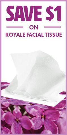 #Save $1 on #Royal Facial #Tissue