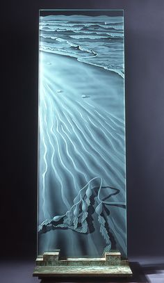 etched glass | carved glass | frosted glass window | heatherglass.com