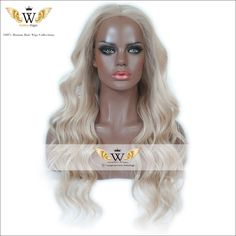 Find More Human Wigs Information about 7A Ombre Light  Blonde Human Hair Lace Front Wigs Brazilian Remy…