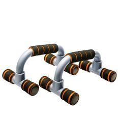 ZNL 2 X Orange Liegestützgriffe Fitness Push Up Liegestütz Griffe DFWC01 Orange