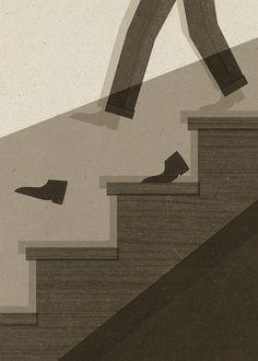 One Step Ahead by Zara Picken Illustration, via Flickr