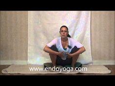 ▶ Yoga for Endometriosis and Pelvic Pain - Squatting - YouTube