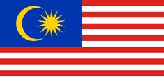 The Malaysia flag was officially adopted on September 16, 1963. Using the U.S. flag as a model, the 14 red and white stripes represent the 14 states of the country. The gold crescent and star are symbols of Islam, and the blue field represents the unity of the people.